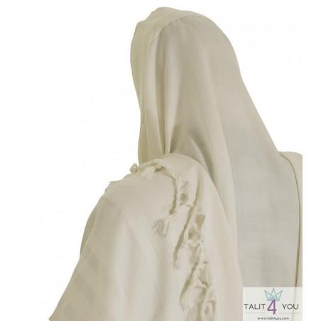 Tallit gadol Malhut white