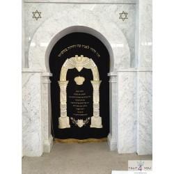 Parochet temple