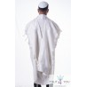Tallit Gadol bright white stripes