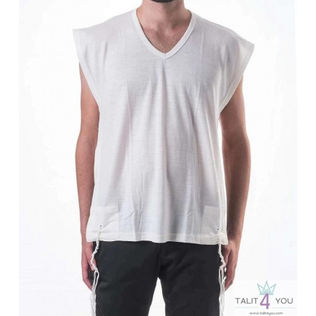 Tzitzit Camiseta De Lana