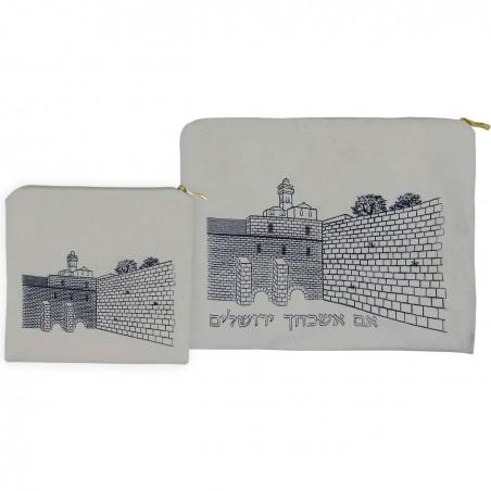 Pochette Talit et tefiline Jerusalem