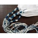 Pack 3 Talit katane avec fils bleu