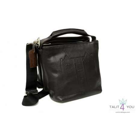 Genuine Leather Double tefillin bags Habad